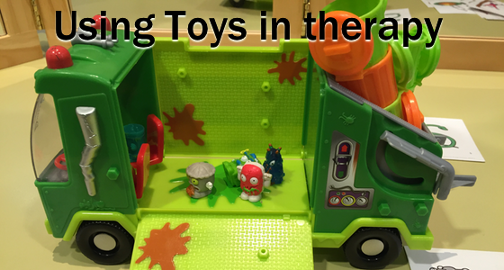 Using toys in therapy