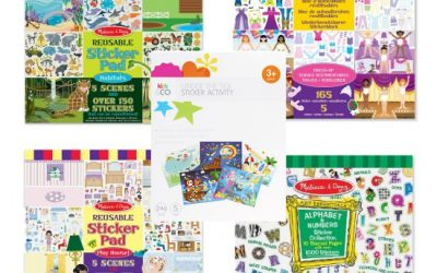 Toy of the Term – Sticker Books