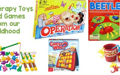 Therapy Toys and Games from our Childhood